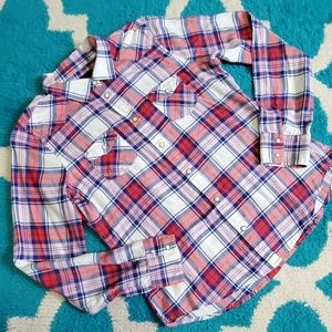 Aeo button down size large